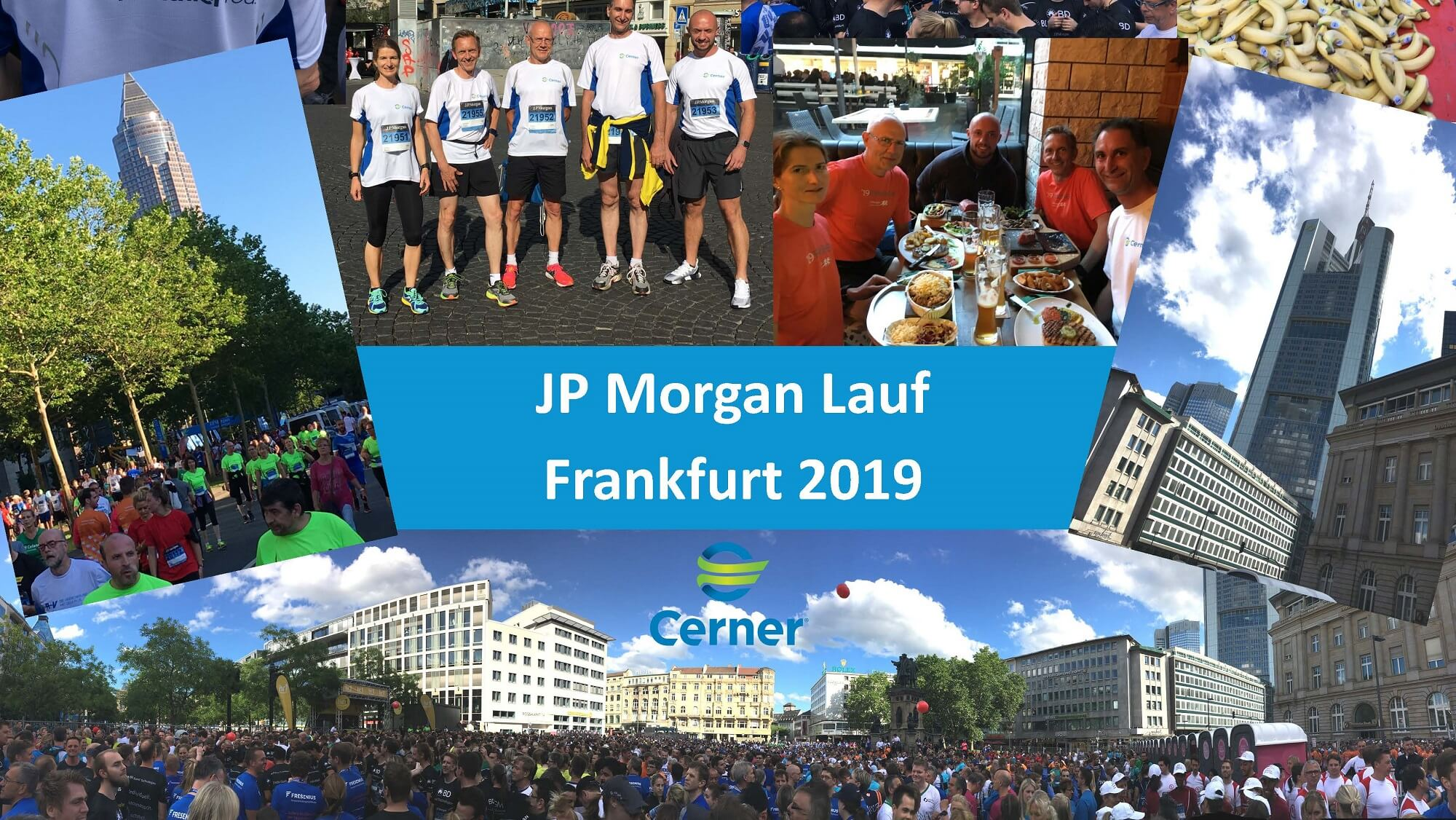 J.P. Morgan Corporate Challenge Lauf 2019 in Frankfurt