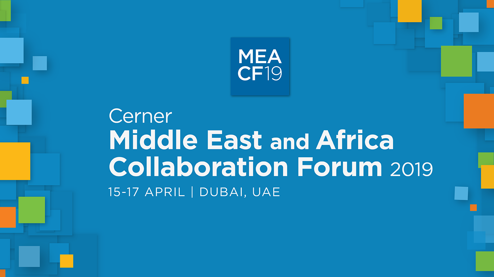 Middle East and Africa Collaboration Forum 2019