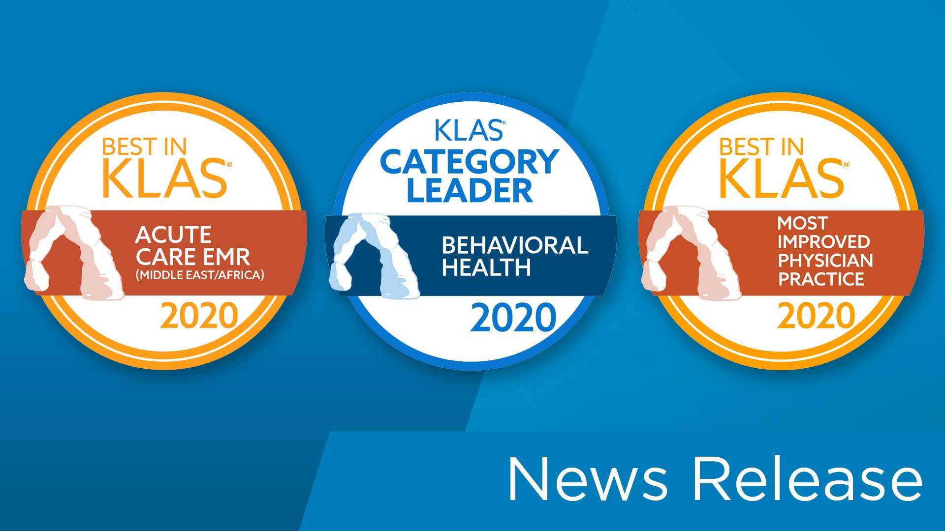 Best in KLAS news release image