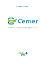 2010 Cerner Annual Report Cover_cerner logo