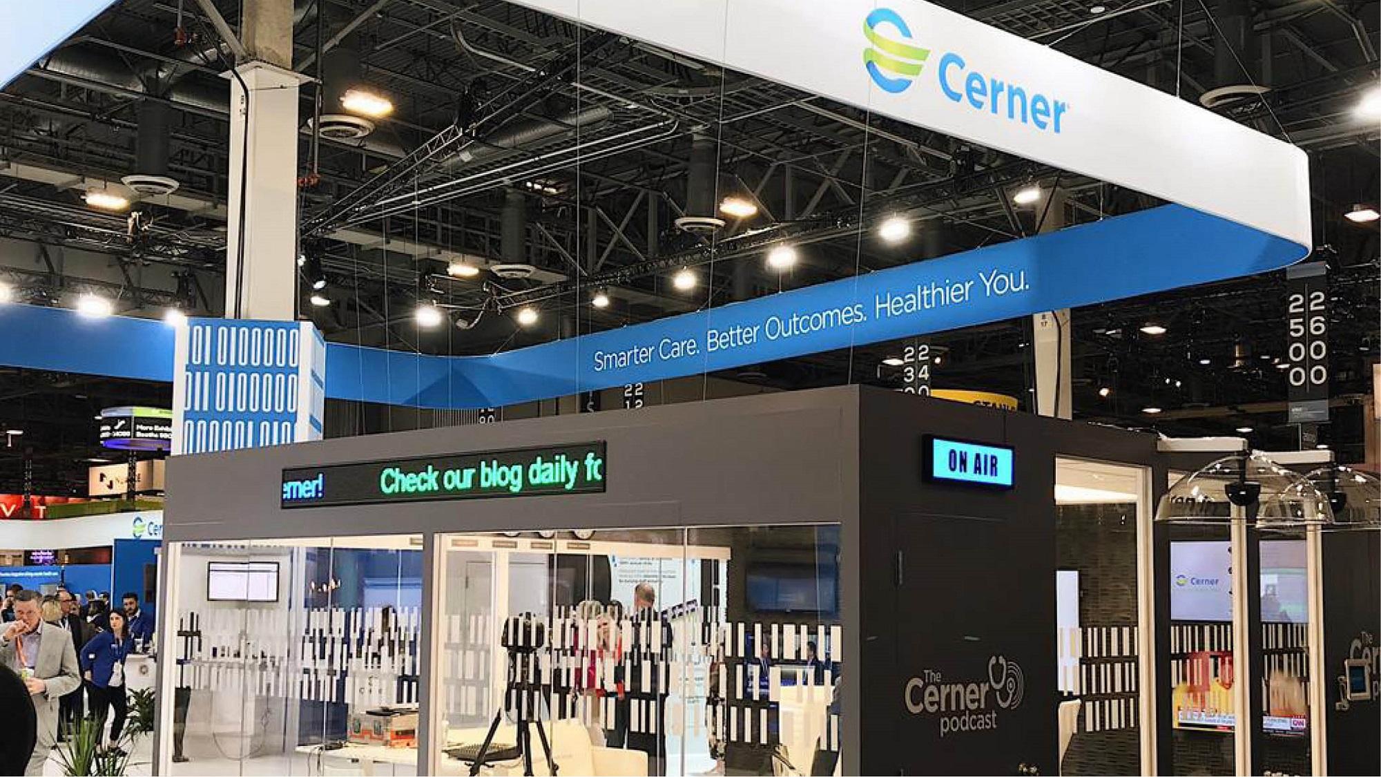 Cerner HIMSS booth