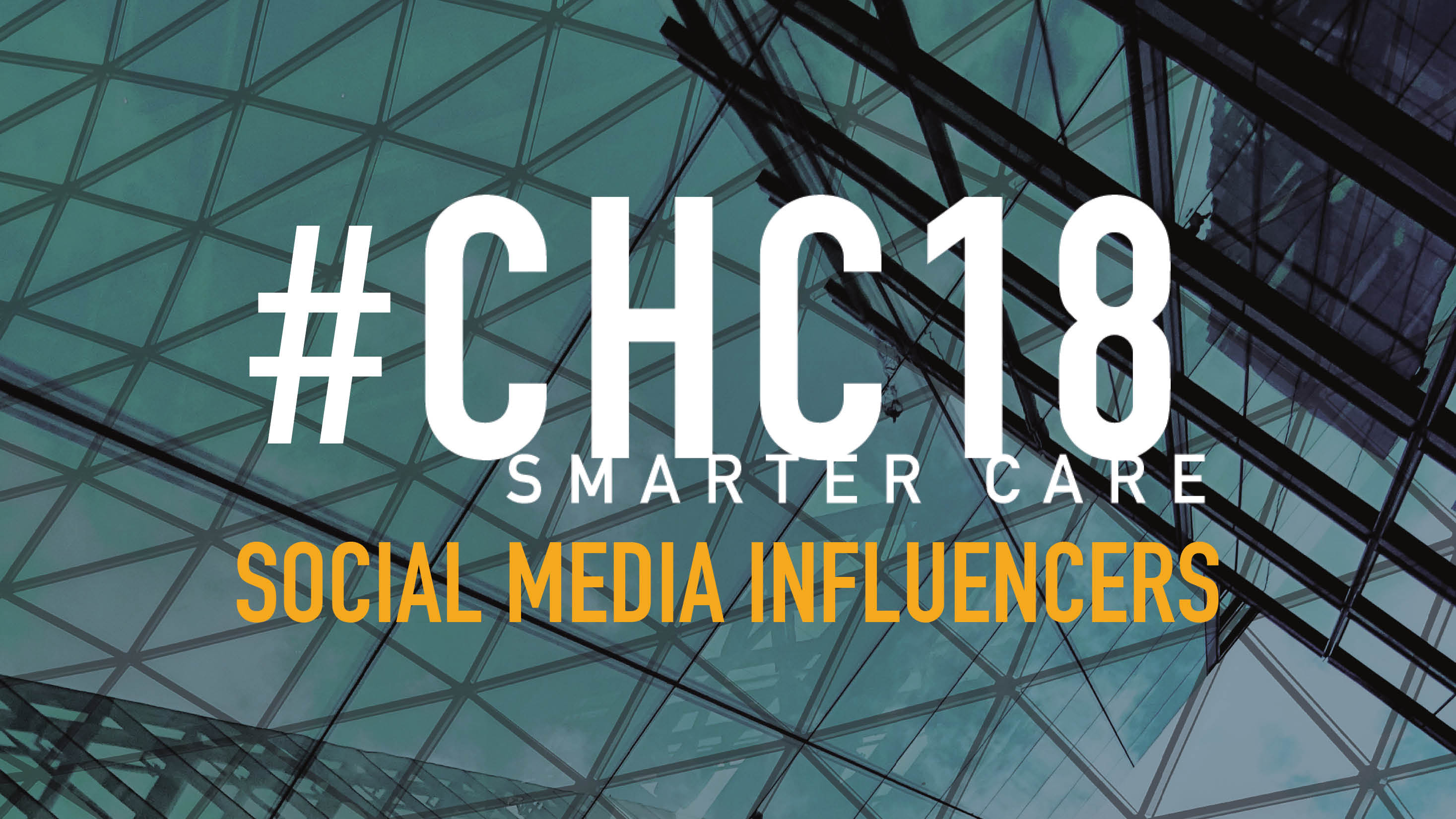 Introducing the #CHC18 Social Media Influencers