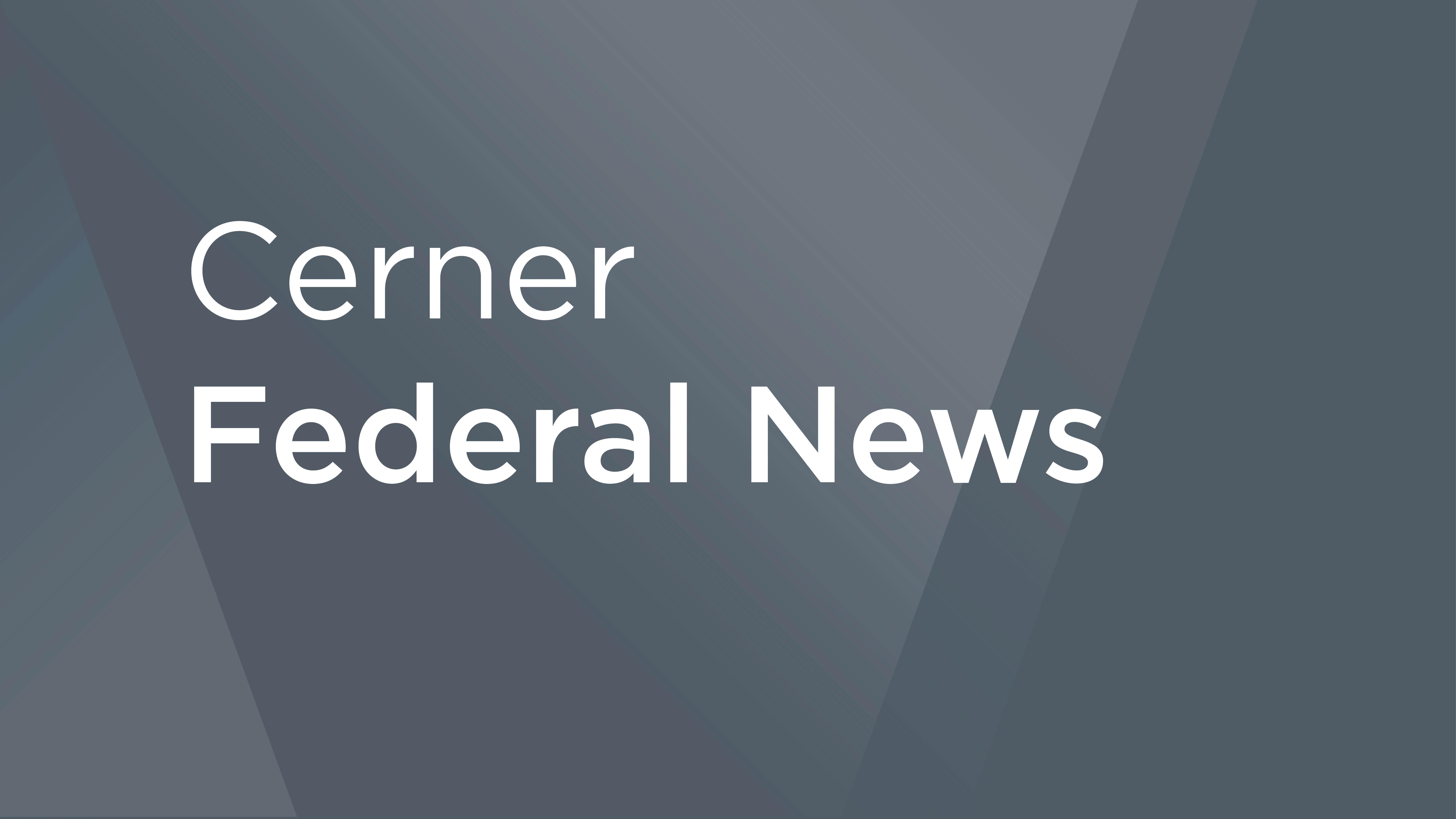 Cerner federal news
