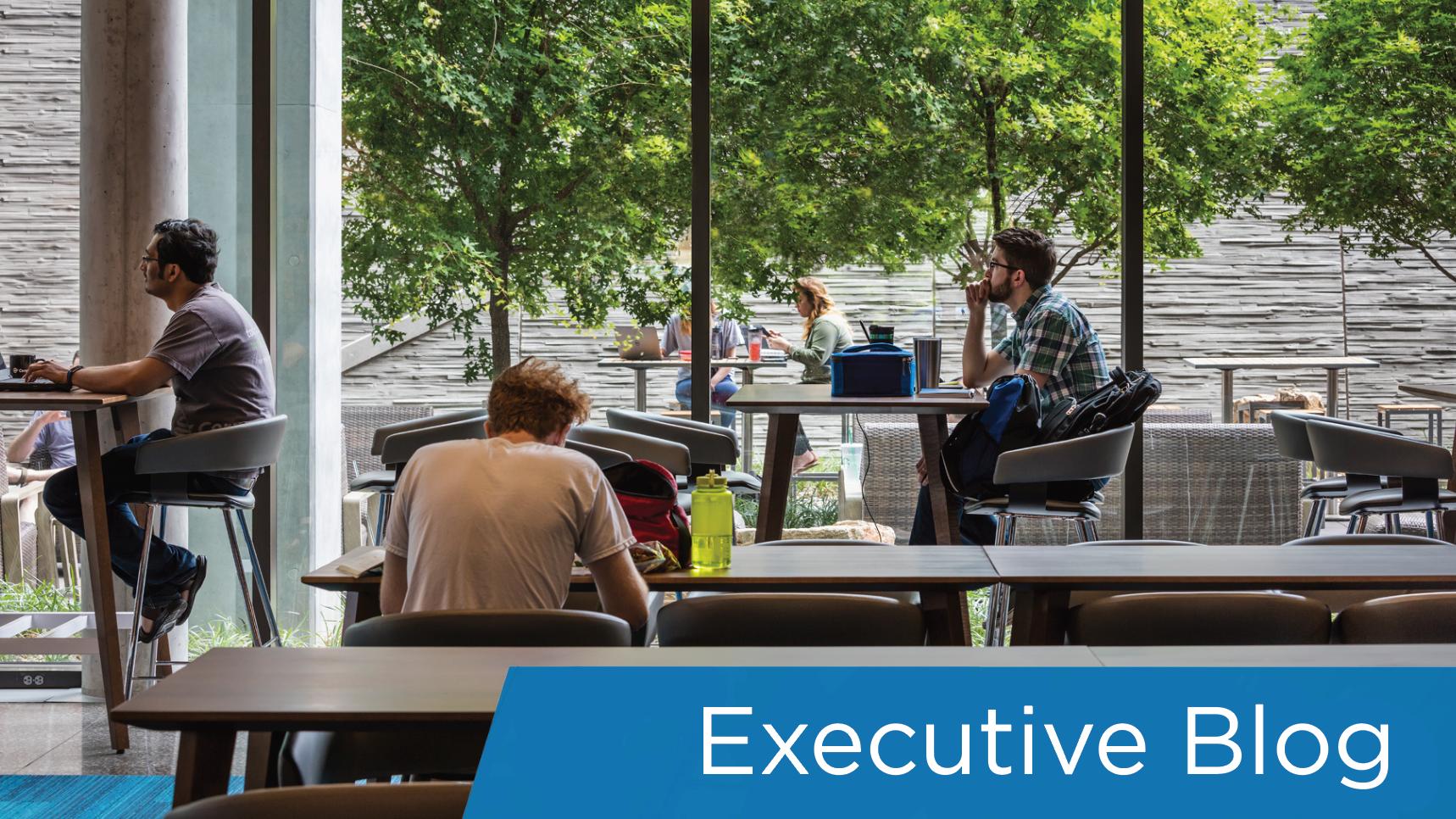 Executive blog