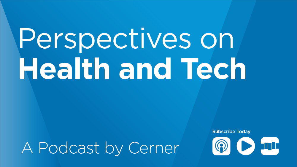 Podcast image_Perspectives on Health and Tech_blue background
