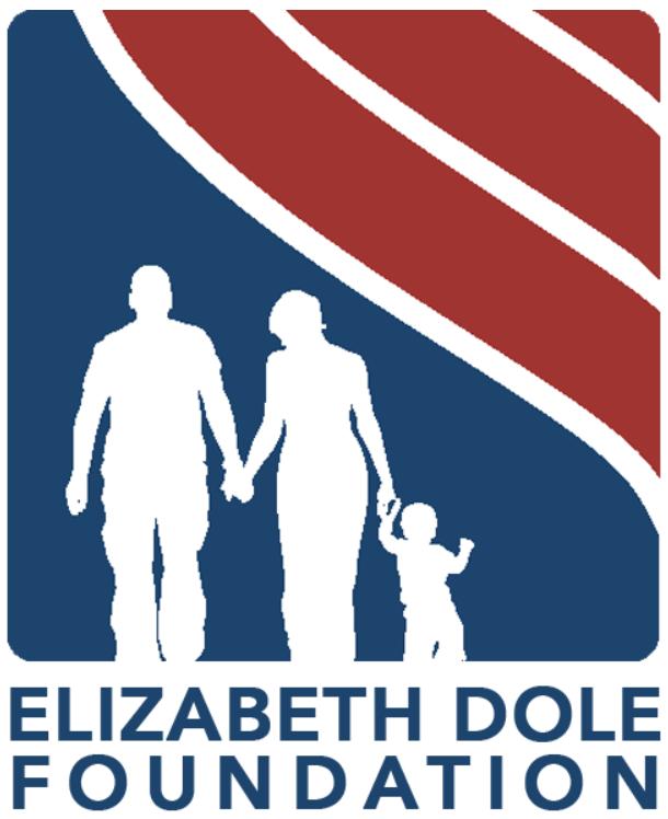 Elizabeth Dole Foundation Logo