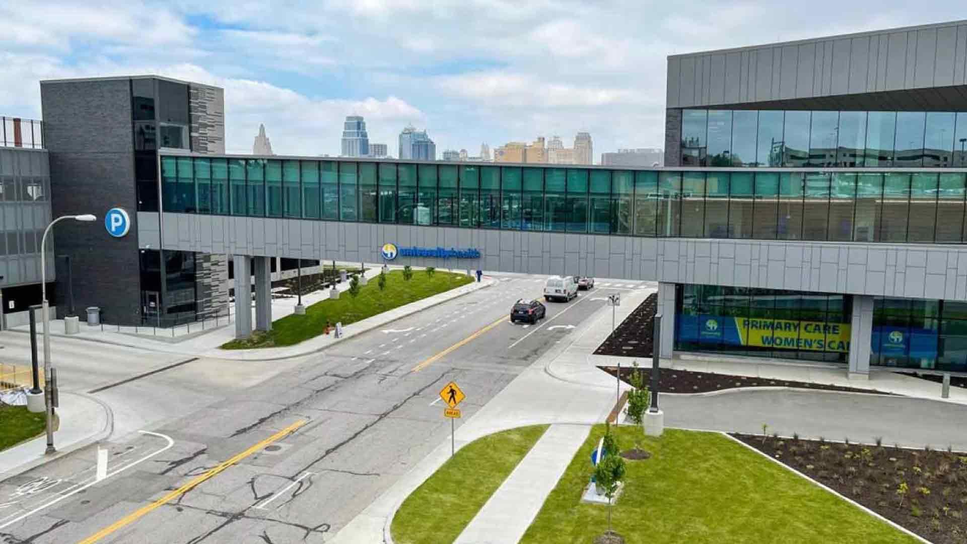 Truman-Medical-Centers-University-Health-facility exterior