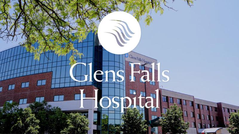 Glen Falls Hospital logo_hospital exterior background