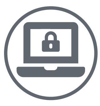 Data and security icon