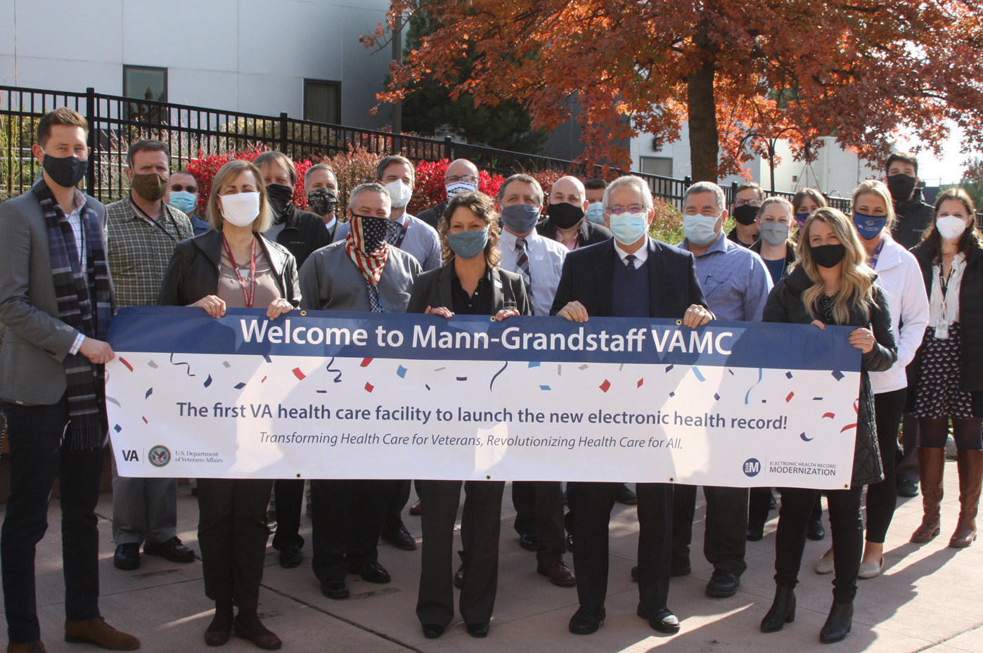 Welcome to Mann-Grandstaff VAMC banner