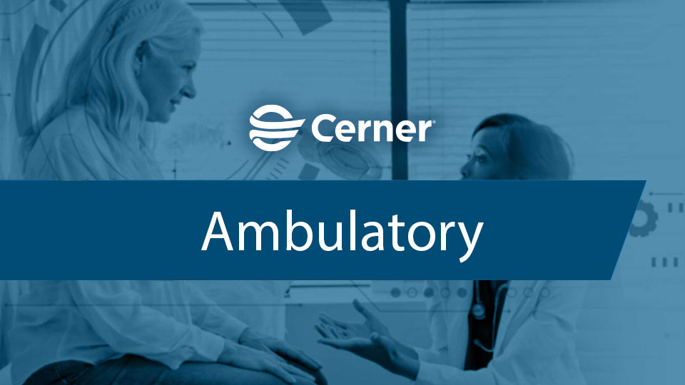 Ambulatory solution featured image
