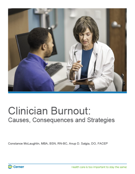 Clinical Burnout white paper