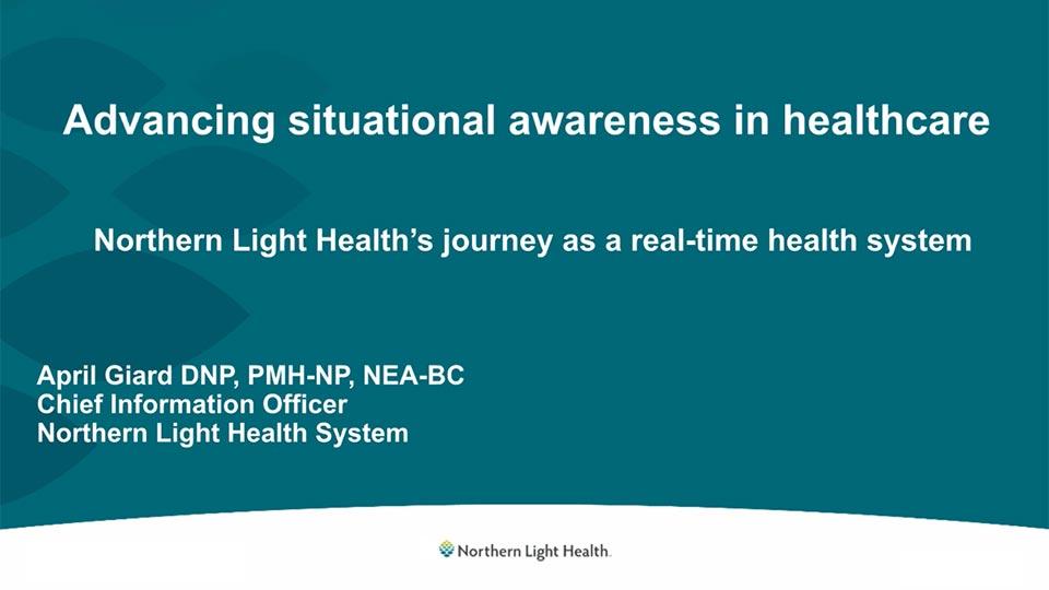 Northern Light Health webinar