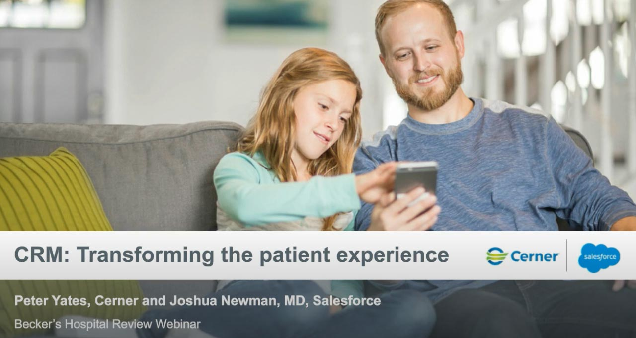 How-to-transform-the-patient-experience-in-the-age-of-consumerism-and-COVID-19_Dad and daughter holding phone
