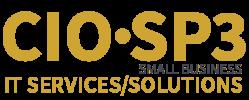 CIO SP3 Small Business Logo