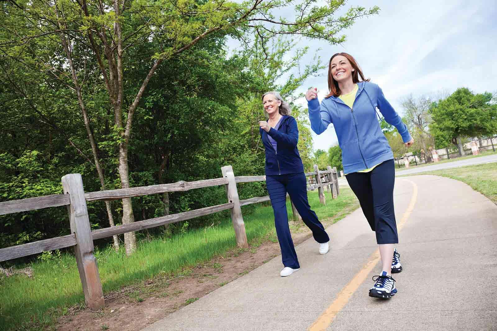 Workforce Health header_two women speed walking
