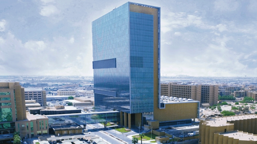 King Faisal's state-of-the-art tower, King Abdullah Center for Oncology & Liver Disease (KACOLD), where there are 300 smart rooms deployed.