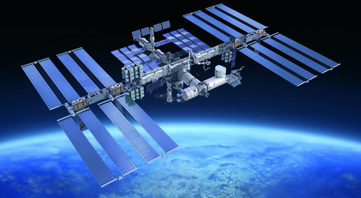 Mit SHA zur ISS
