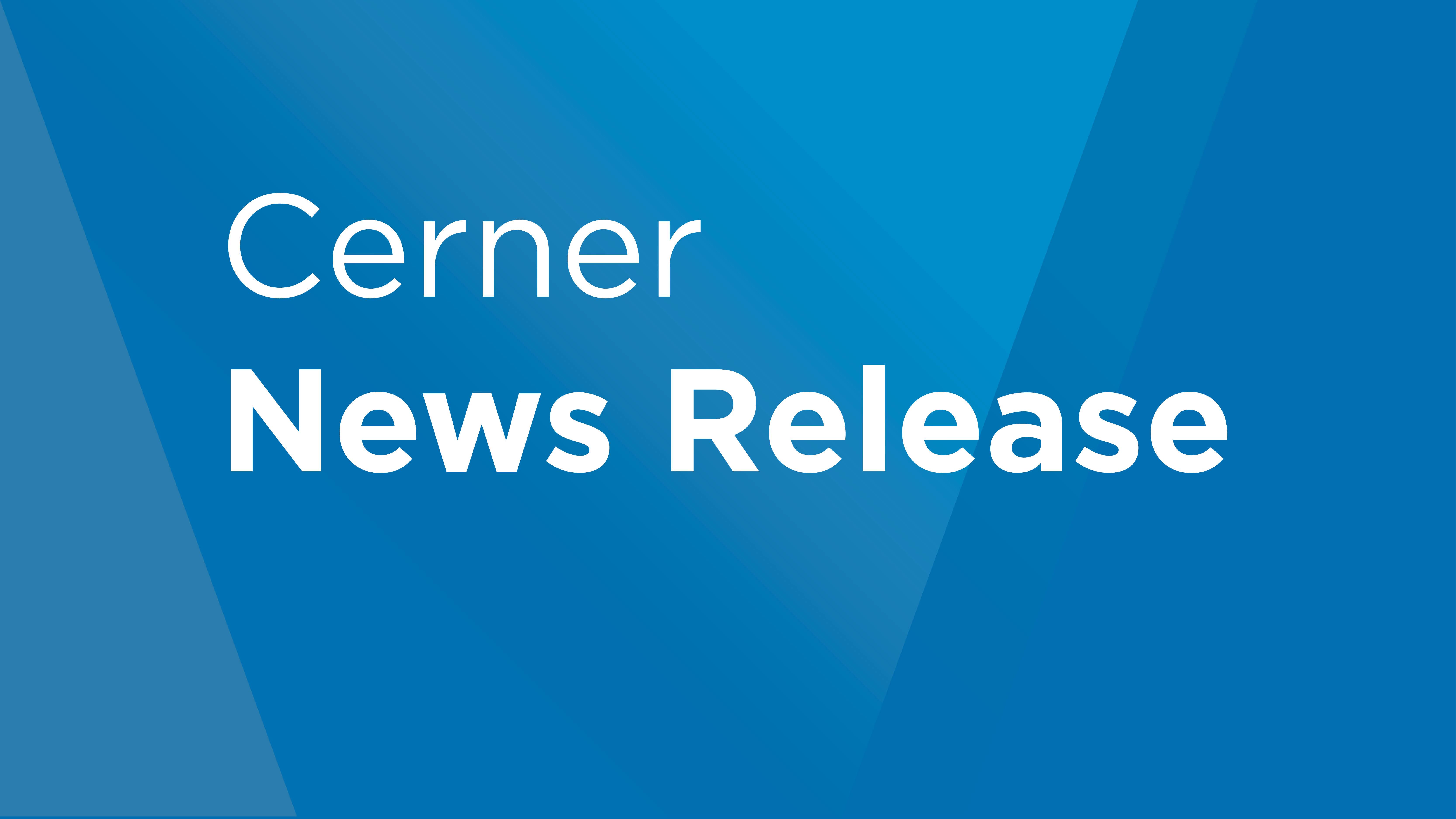 Cerner press release