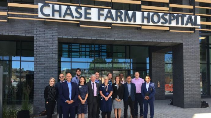 Chase Farm Hospital celebrates HIMSS Analytics EMRAM Stage 6 achievement
