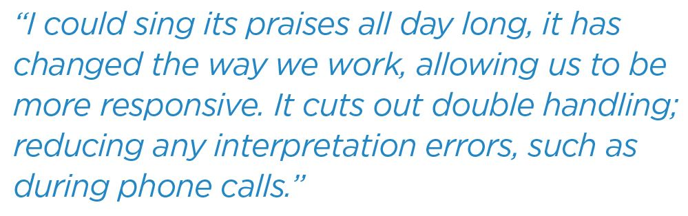 Improving patient flow and the care experience quote 3