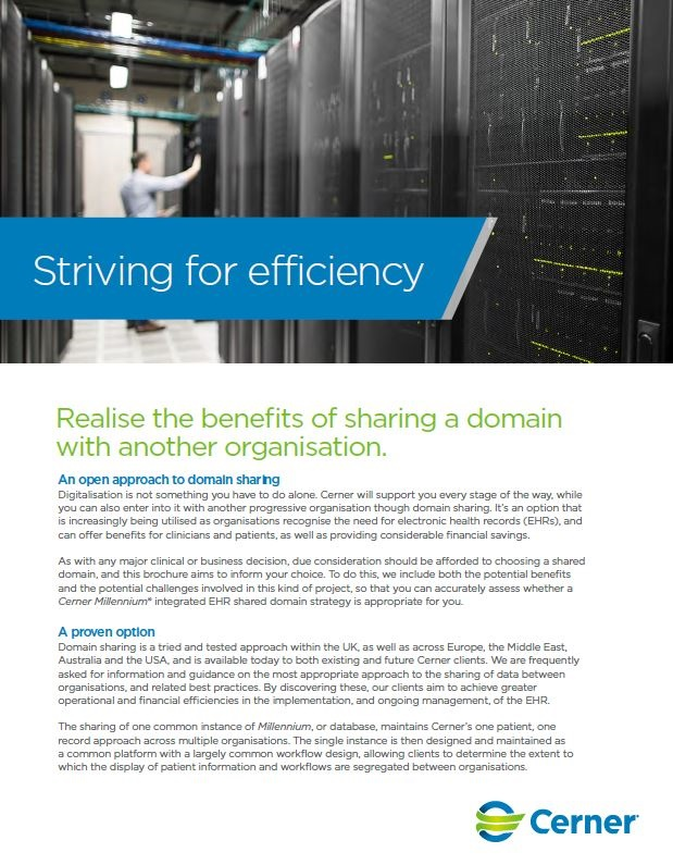 Shared domains brochure