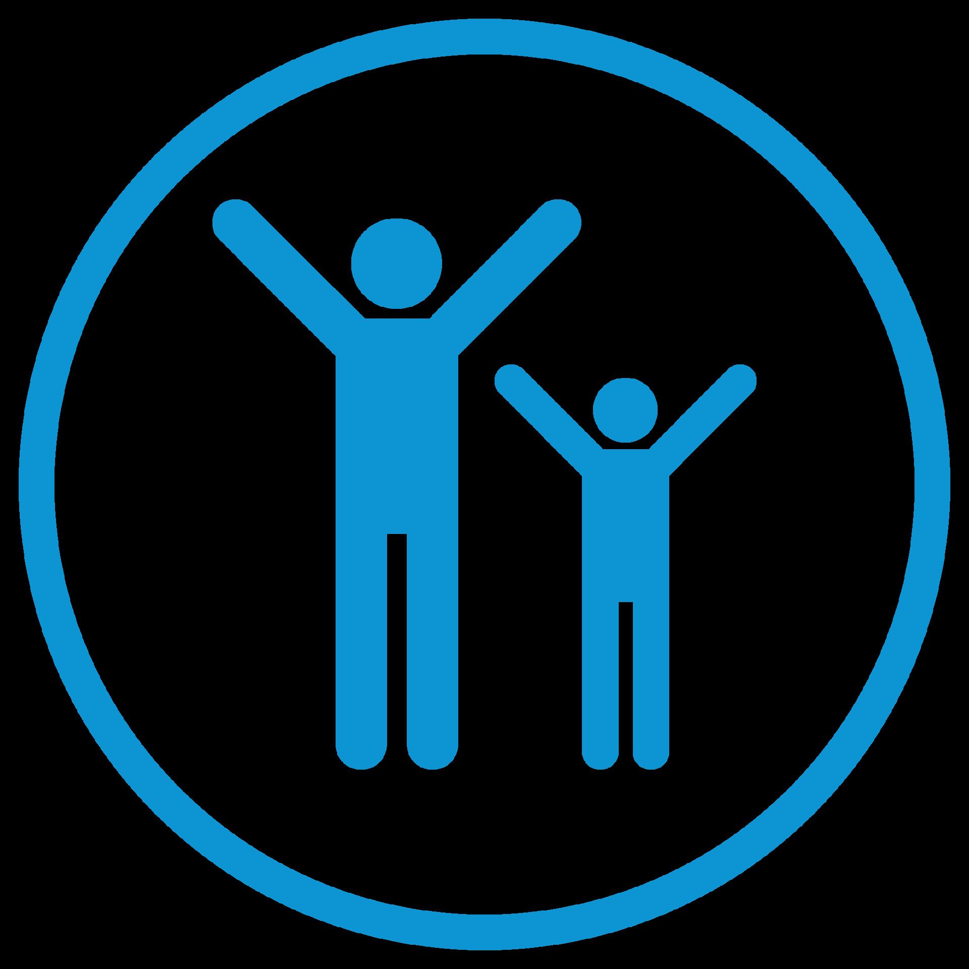 AmbulatoryIcon_Consumers_blue_parent and child