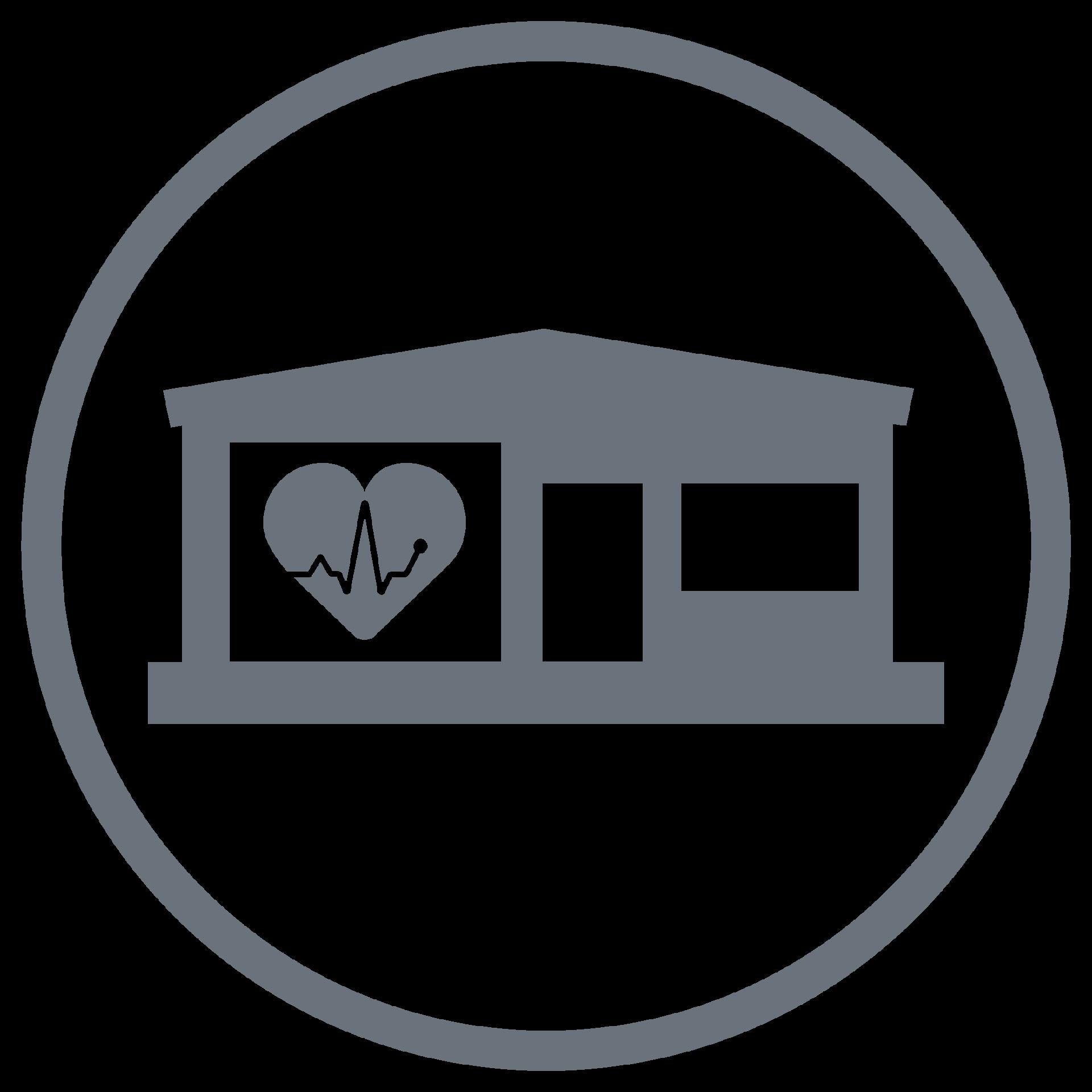 AmbulatoryIcon_Clinics_grey_home heart building