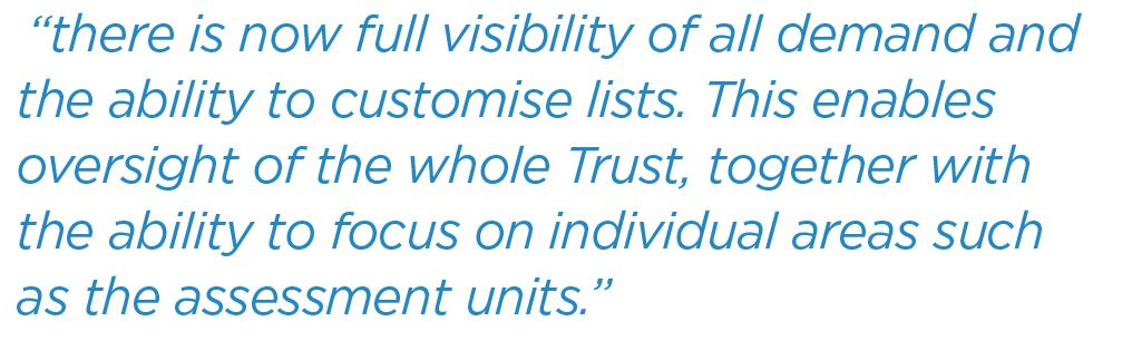 Improving patient flow and the care experience quote 2