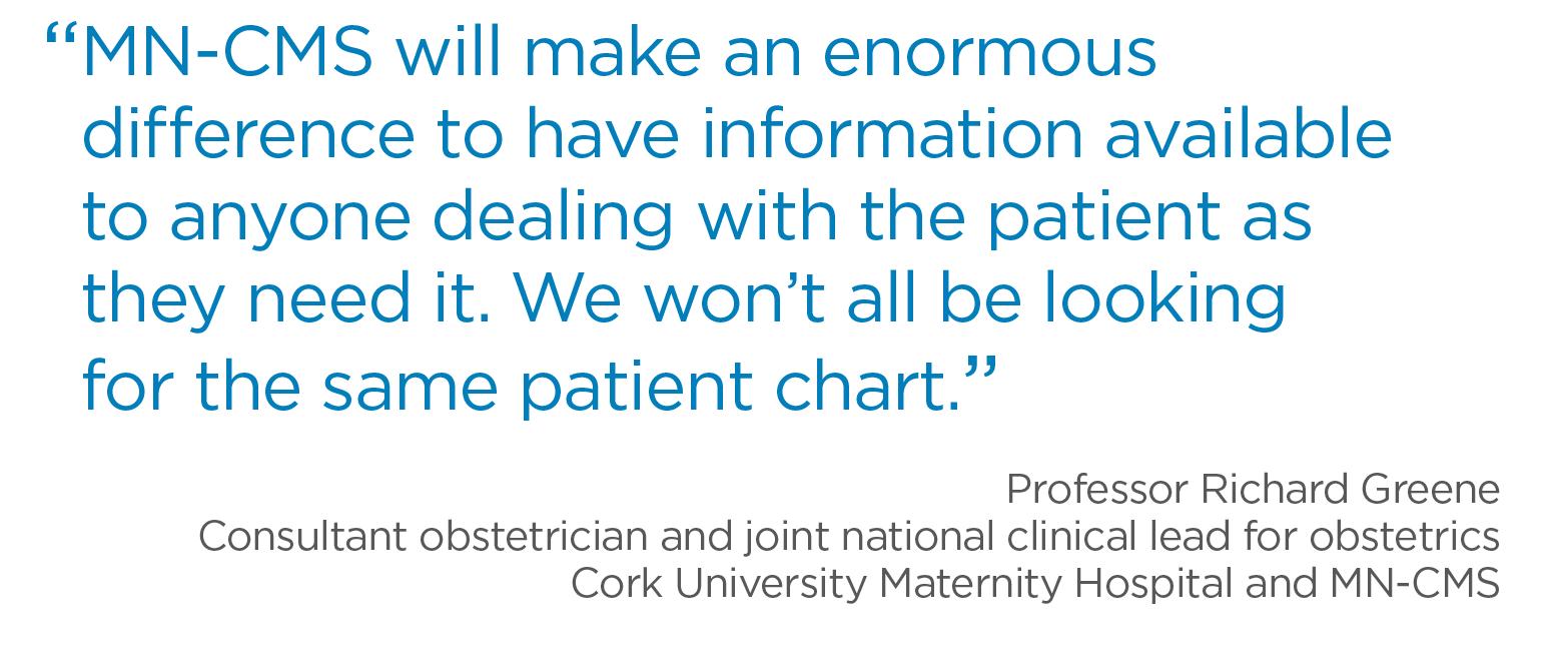 Richard Greene, Cork University Maternity Hospital