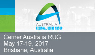 Australian Regional User Group 2017