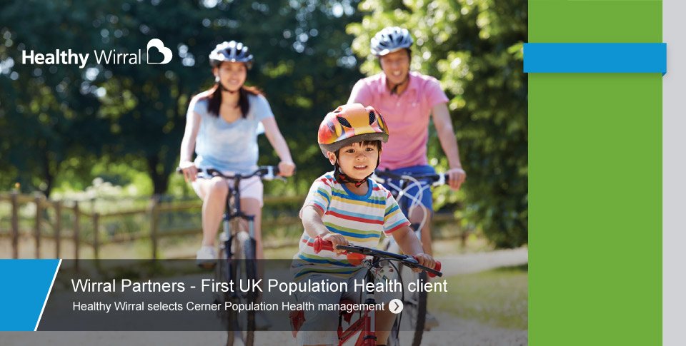 Wirral Partners - First UK Population Health Client